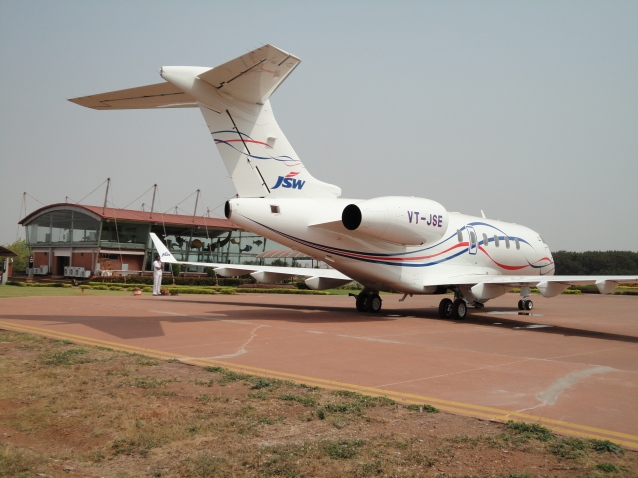 Apron at JSW Vijayanagar Airport