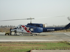 Heliport at Cairn India, Surat