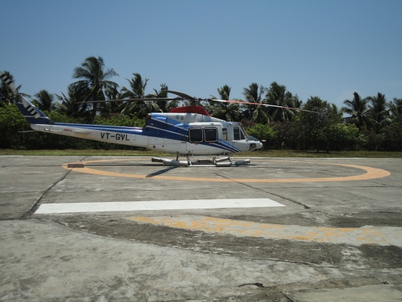 Heliport at Yanam (Andhra Pradesh)