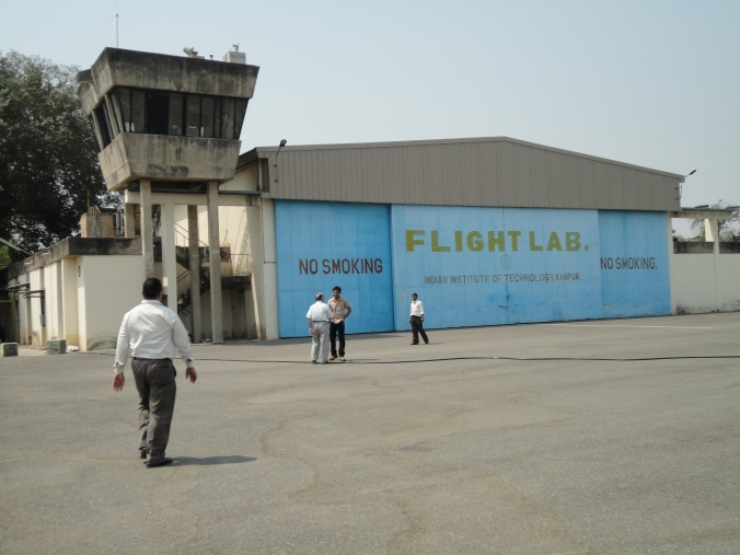 Hangar at IIT Kanpur