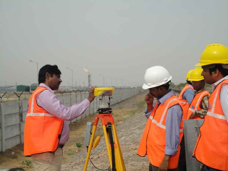 OLS Survey by DGPS at Cairn India Ltd, Barmer