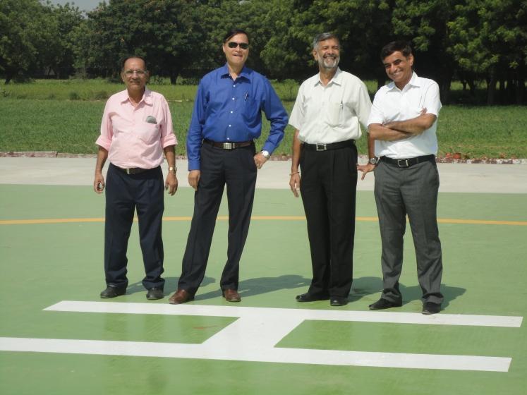 Nirma Helipad Ahmedabad