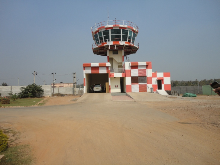 JSPL Angul Airport (Odisha)-ATC Tower
