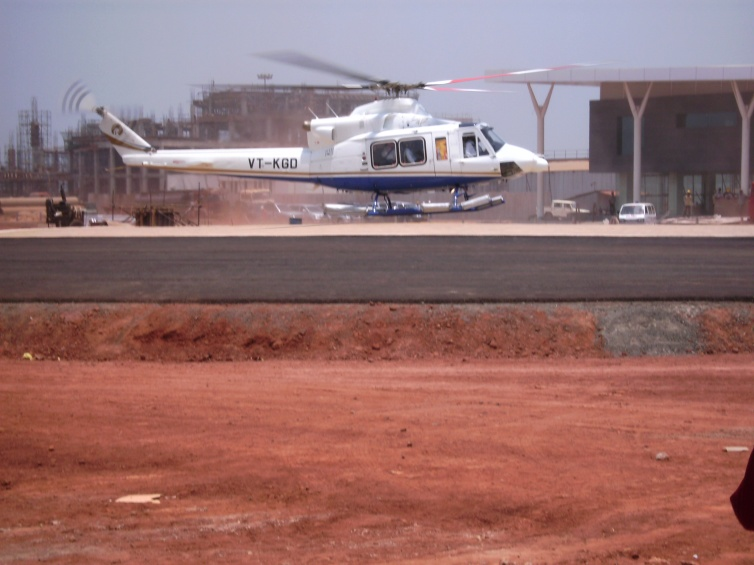 Reliance Heliport, Gadi Moga (Andhra Pradesh)